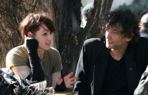 Amanda Palmer and Neil Gaiman at Arena Vienna