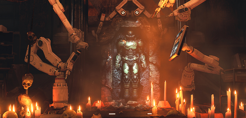 how to start ritual of doom