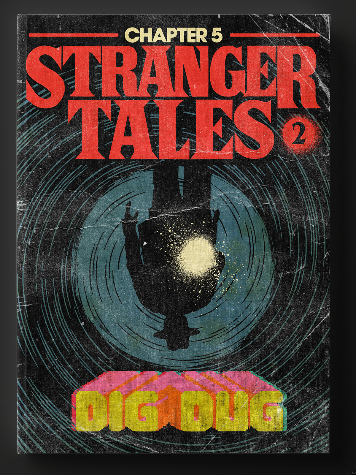 "Book Cover Artist Makes Retro Book Covers For ""stranger Things"