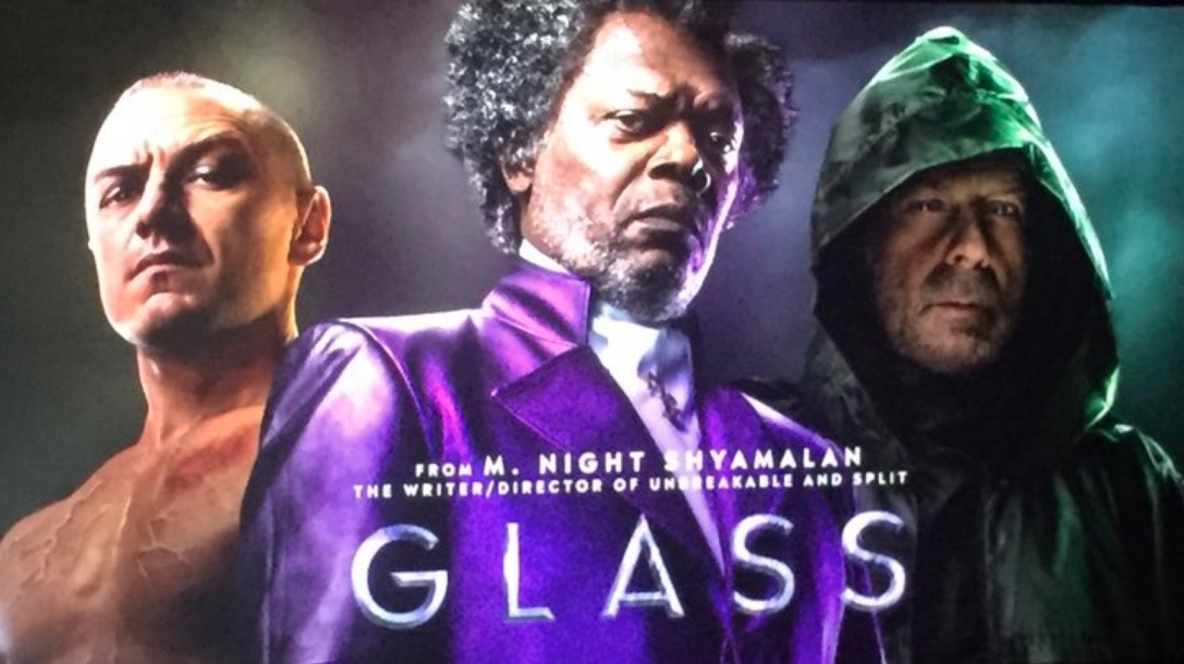 Looking Glass Falls Wallpaper First Look At Shyamalan S Glass Plus Story Details For