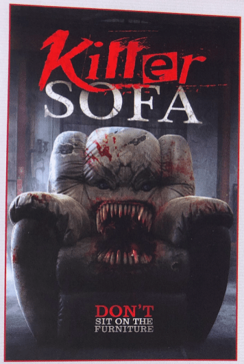 Click V Sofa Take A Seat On Devilworks' 'killer Sofa' [cannes] - Bloody