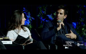 Kate Krantz and Eli Roth © Tribeca