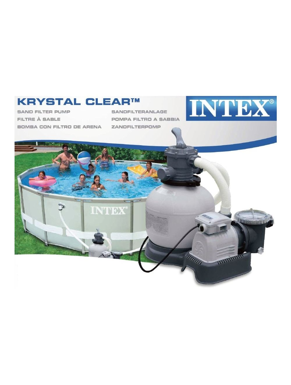 Intex Pool Nicht Rund Sandfilter Pool