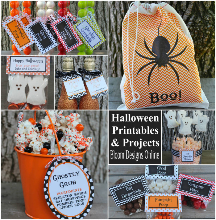 Halloween Printables and Projects - Bloom Designs