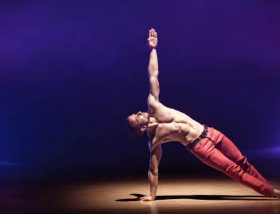 Male contemporary dance