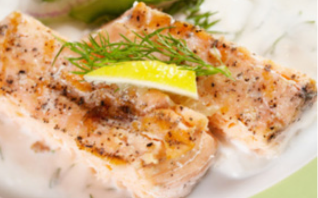 July Fish Special – Broiled Arctic Char