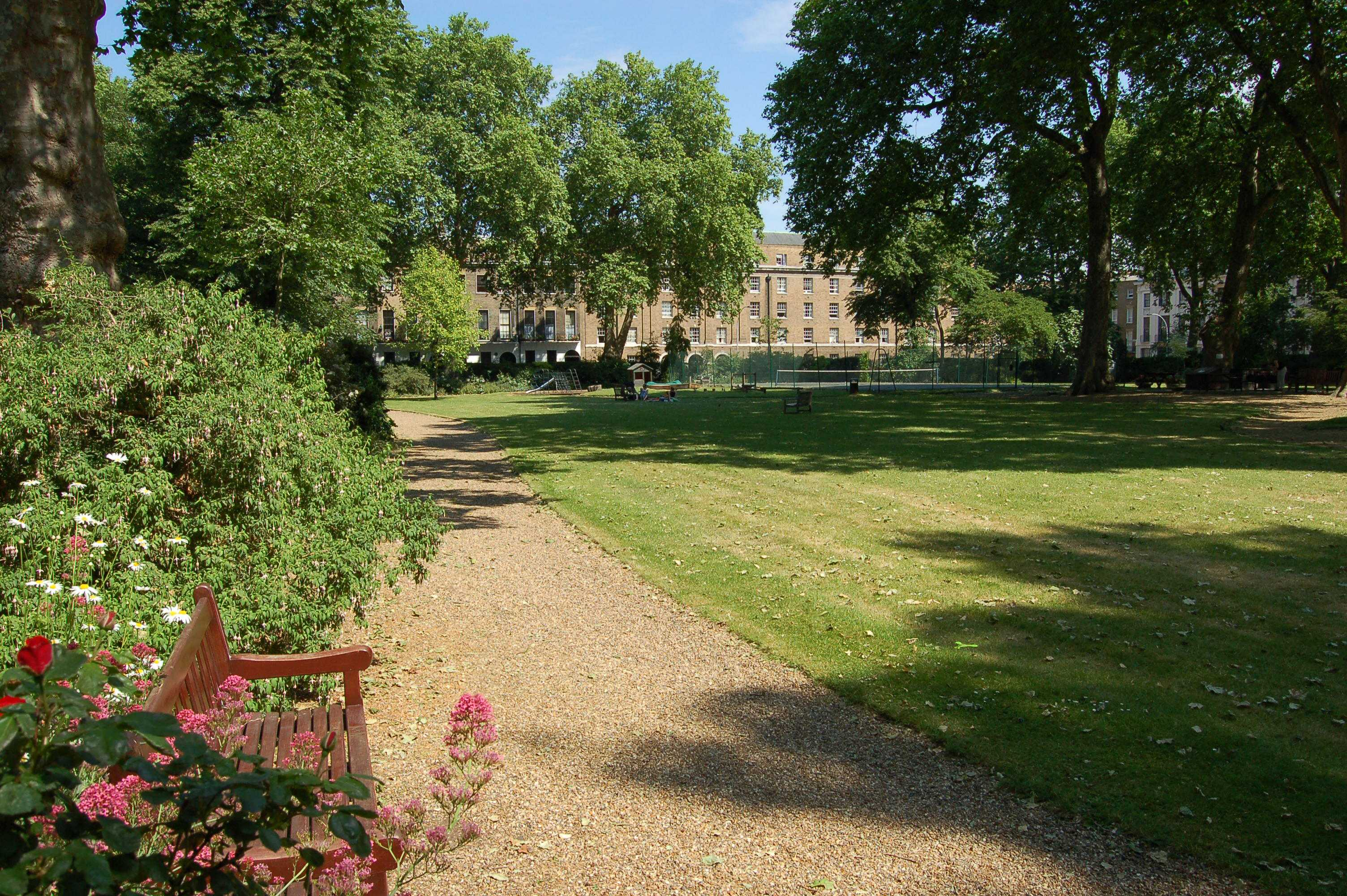 Garden S Mecklenburgh Square | Bloomsbury Squares & Gardens
