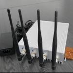 10W Potencia Bloqueador de Celular 3G CDMA GPS WiFi com Controle Remoto 3
