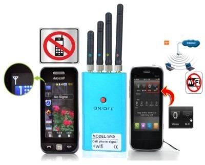 4 Antenas Bloqueador de Celular Gps Wifi