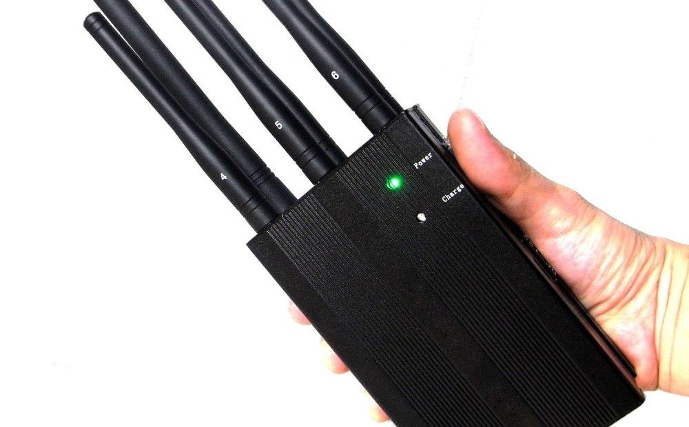 6 Antenas Bloqueador Sinal de Celular Lojack