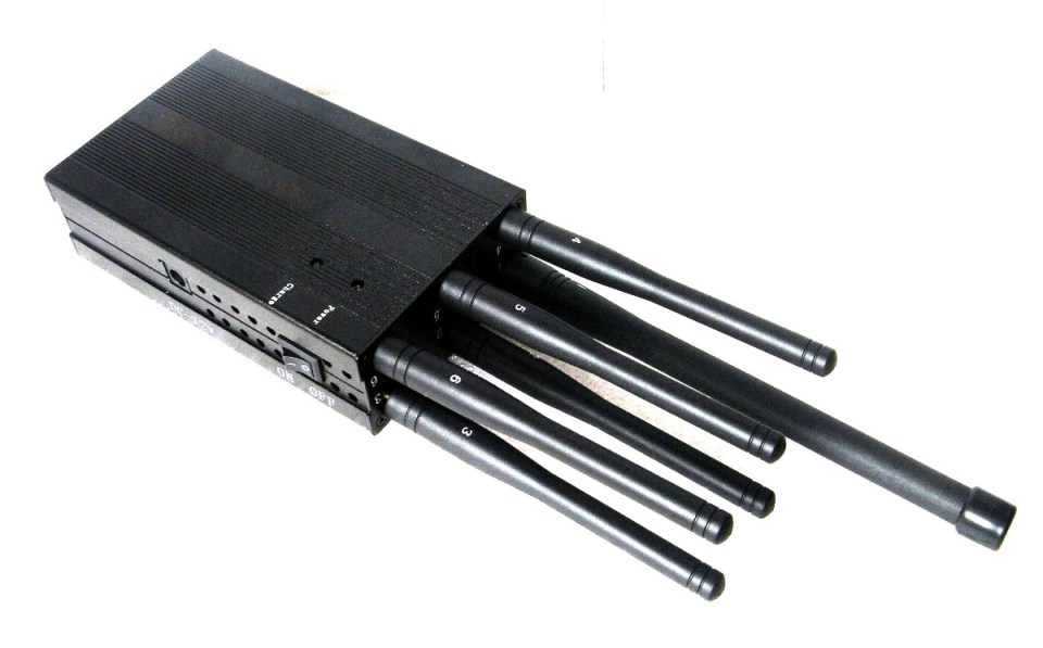 6 Antenas Bloqueador Sinal de Celular Lojack 2