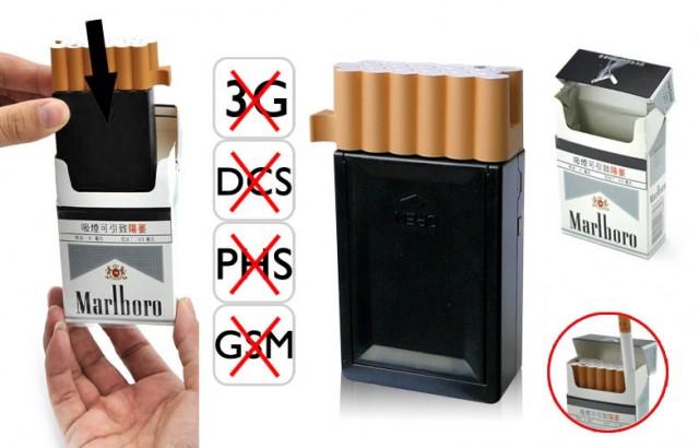 Bloqueador de celular Sinal Maço  de Cigarros