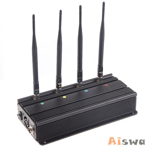 Bloqueador de CELULAR(GSM - CDMA - DCS - PHS - 3G) Sinal Refrigerado