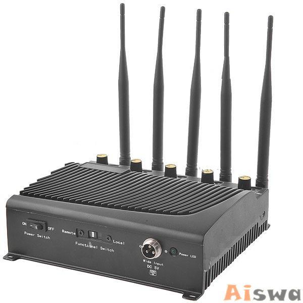 Bloqueador de GPS, Celular,GSM800, CDMA900 ,DCSPHSGSM1800-1900, Wifi 2.4Ghz e 3G 4