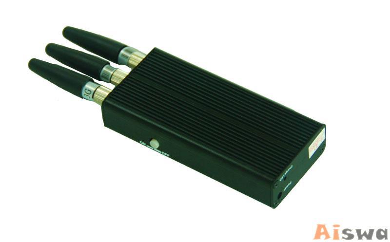 Bloqueador de GPS GSM  CDMA  DCS PHS  GPS 4