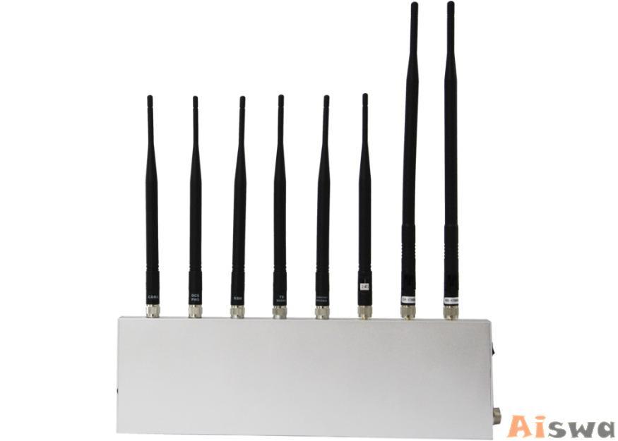 Bloqueador de VHF  UHF,GPS, Celular GSM , CDMA , PHS , 3G, WiFi  2