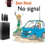 BLOQUEADOR DE SINAL DE CELULAR E 3G