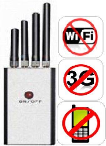 BLOQUEADOR DE SINAL DE CELULAR WIFI 3G