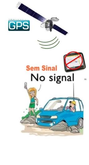 Sinal de Celular e GPS