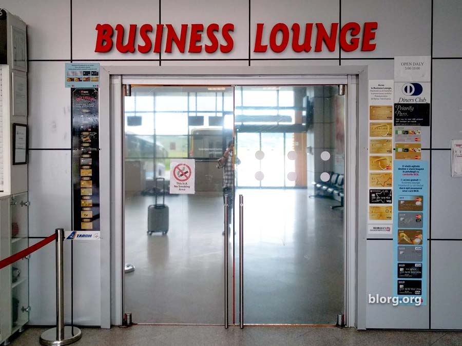 Cluj Domestic Lounge: Using Priority Pass
