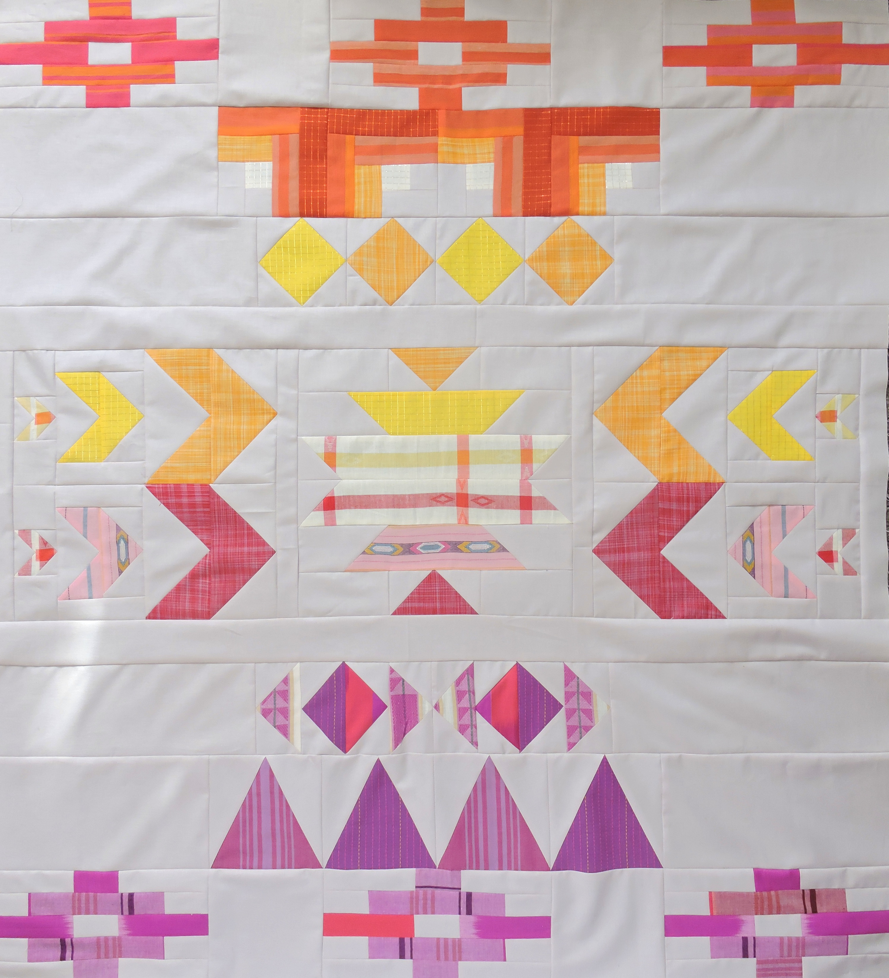 Baby Quilts.com Baby Sunset A Baby Quilt Pattern Blossom Heart Quilts