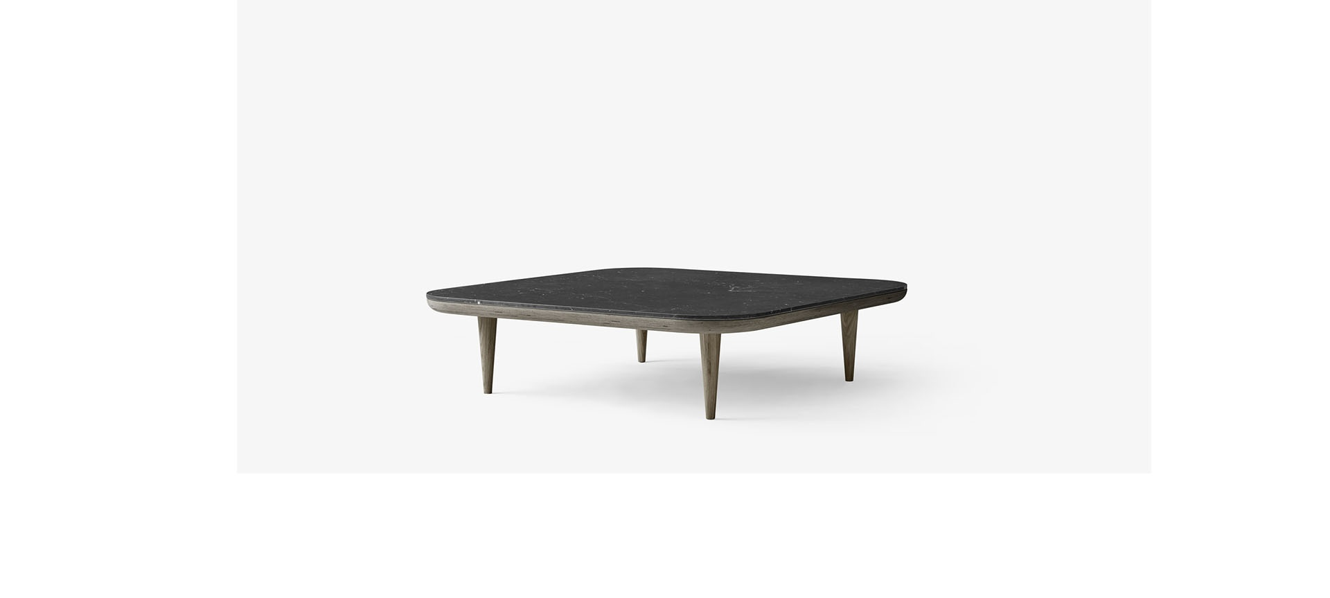 Table Basse Fly Table Basse Fly - Sc11 - 120x120 Cm - And Tradition - Blou