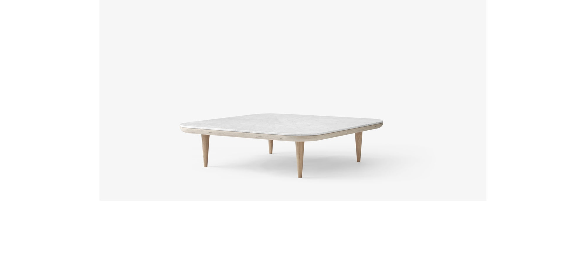 Canape Droit Fly Table Basse Fly Sc11 120x120 Cm And Tradition Blou