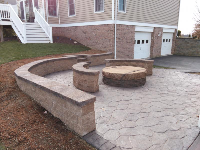 Blough Contracting Washington Pa Decorative Concrete