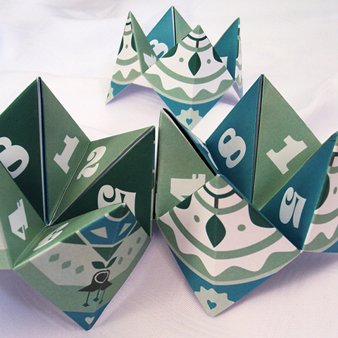 DIY #12 fortune teller favours - BLOVED Blog