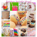 Rainbow Sprinkle Ideas-B. Lovely Events