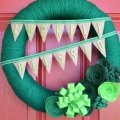 Luckliy Blessed St. Patrick's Day wreath