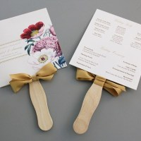 A Round Up of Free Wedding Fan Programs!