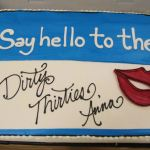 Dirty Thirty Birthday Cake-Love this!