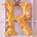 DIY Fall Initial Decor