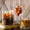 Use nuts for Easy and Lovely DIY fall decor