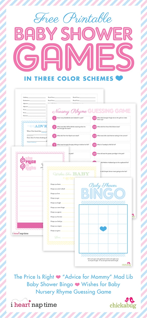 Baby Shower Free Printables! - B Lovely Events