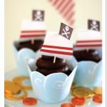 Super Cute Pirate Party Cupcakes!