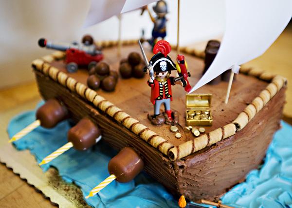 Too cute pirate cake