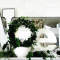 Noel DIY Christmas Mantel
