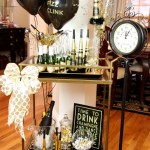 New Years Eve Bar Cart