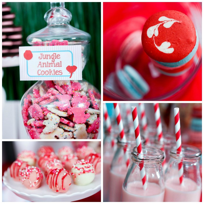 Love this Wild About You Valentine's Day Party - B. Lovely Events