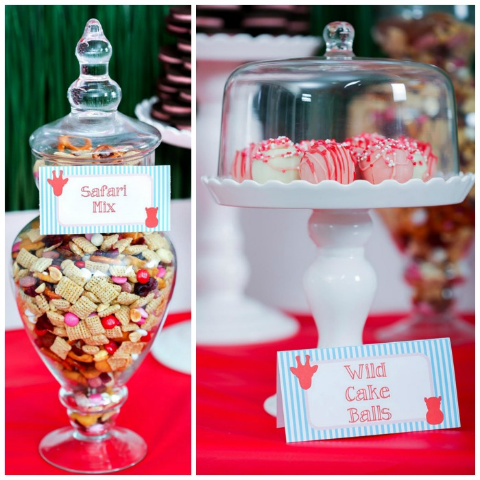 Wild About You Valentine's Day Party treats - B. Lovely Events