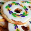 Love these Mardi Gras cookies!