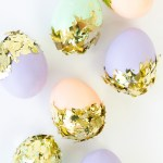 Gold Confetti Eggs!