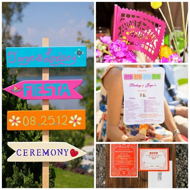 Super Cute Mexican themed Wedding ideas!