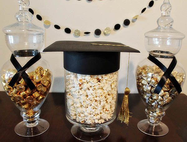 our styled graduation party b lovely events. Black Bedroom Furniture Sets. Home Design Ideas
