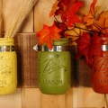Fabulous Fall Mason Jars