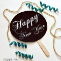 Happy New Year Free printable sign