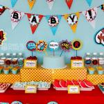 {Fantastic} Superhero Baby Shower Ideas!