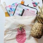 Pineapple School Supplies! {Oh My!}